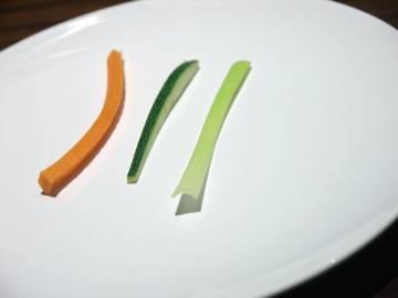 Légumes mandoline