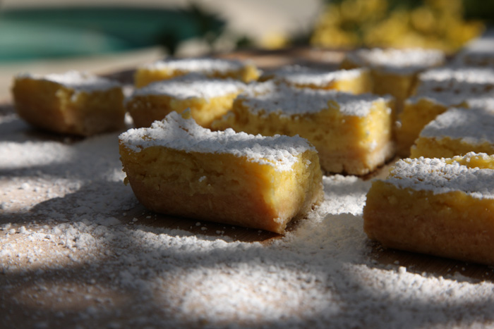 gateau lemon bar