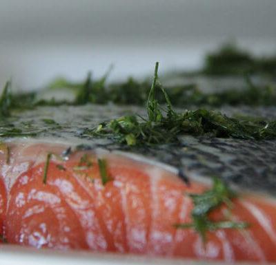 saumon avant cuisson