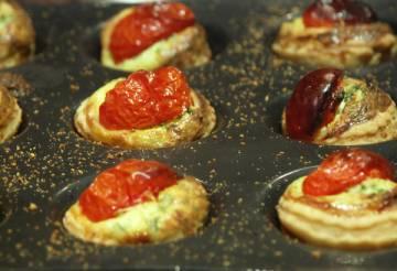 tartelette tomate ricotta