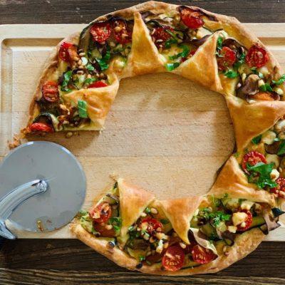tarte aux légumes et à la fêta